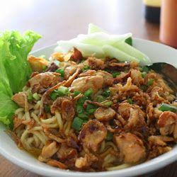 Bahan Resep Mie Ayam Ala Kaki Lima Dengan Kuah Gurih Spesial Resep Sederhana Makan Malam Resep Masakan Asia