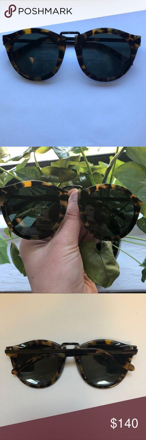 2129a3c9245 Karen Walker Harvest crazy tort sunglasses EUC- some minor wear on bridge  (see photo
