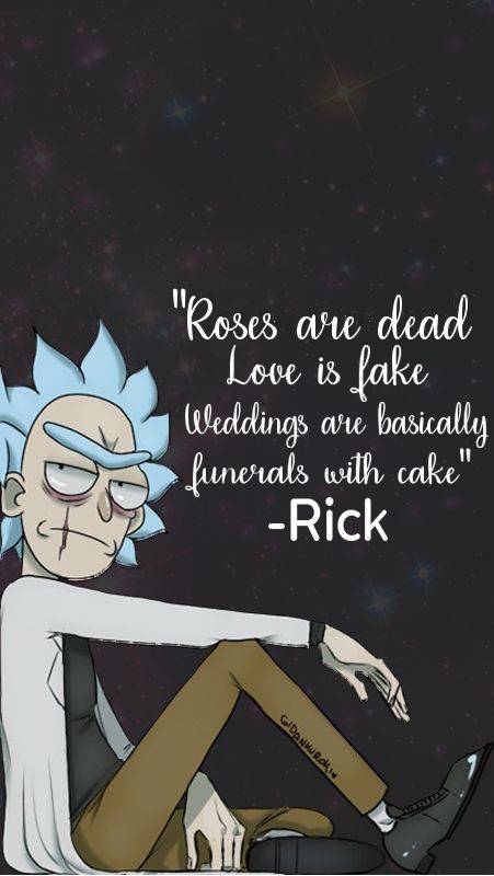 Pin by Jayde chandler on Rick | Rick, morty quotes, Rick ...