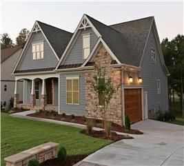 Winning Craftsman Home With 3 Bdrms 1946 Sq Ft House Plan 104 1064 Craftsman House Plans Craftsman House Craftsman Style Homes