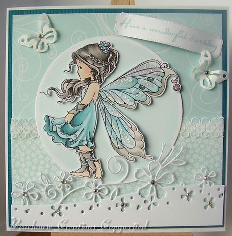 Creations by Bearhouse: Passion for Promakers DT Card - Add Sparkle