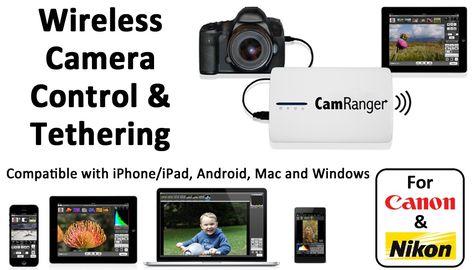 Home Camranger Wireless Camera Nikon Dslr Camera Wireless