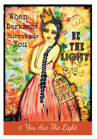This luscious oracle deck has been created to help you tune into your intuition, fire up your creativity and celebrate your sacred feminine spirit. The sacred feminine in you is unconventional, healing, loving and beautiful – and ready to rumble! She doesn't want to be hidden away. She wants to rise up, so her creative fire and loving wisdom can transform your life. Discover your own sacred feminine spirit – that includes your inner priestess of love, medicine woman, gypsy spirit, mermaid soul,