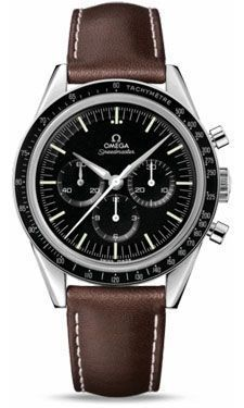 Omega Speedmaster Moonwatch Professional First Omega In Space (Style No: 311.32.40.30.01.001) from SwissLuxury.Com