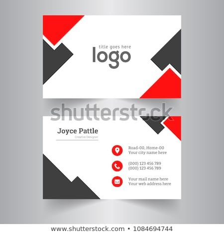 Creative Business Card And Name Card Horizontal Simple Clean
