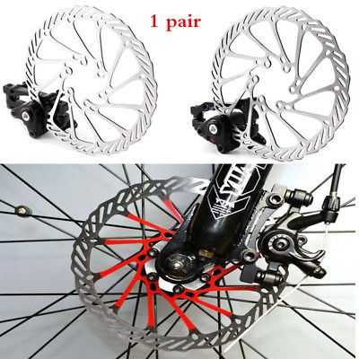 Sponsored Ebay Cycling Bicycle Front Rear Caliper Set Mtb Bike