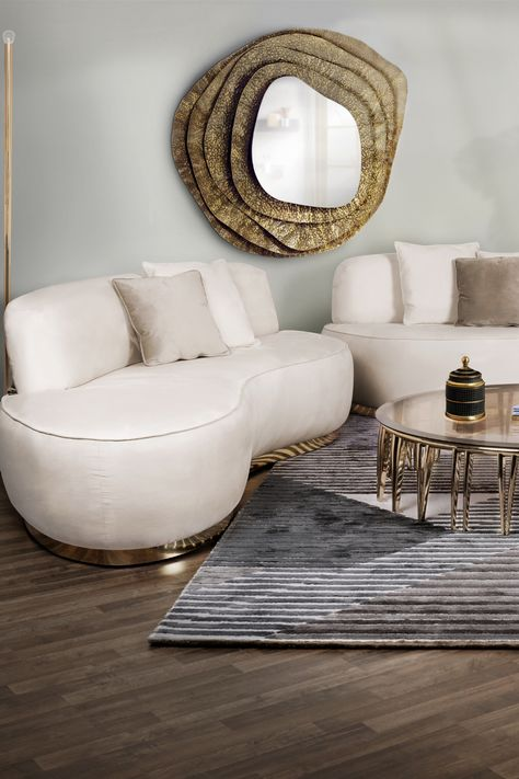 A timeless living room decor style is the perfect choice for a living room style! Discover this project at insplosion.com!  #inspirational #interiordesign #interiordesigninspiration #timelesslivingroom #luxurydecor #luxuryfurniture