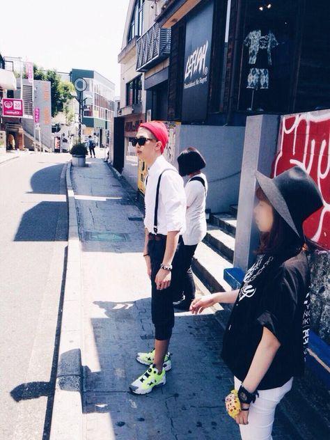 """방탄소년단 on Twitter: """"김 하라쥬쿠 뽀이~~(그웬 스테파니 톤으로) http://t.co/JFOdWp0ljO"""""""