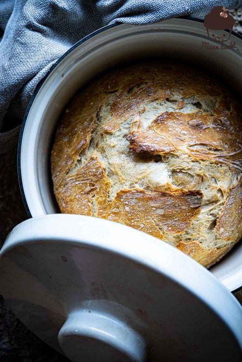 5 Minuten Brot - das einfachste Brotrezept der Welt - Mann backt