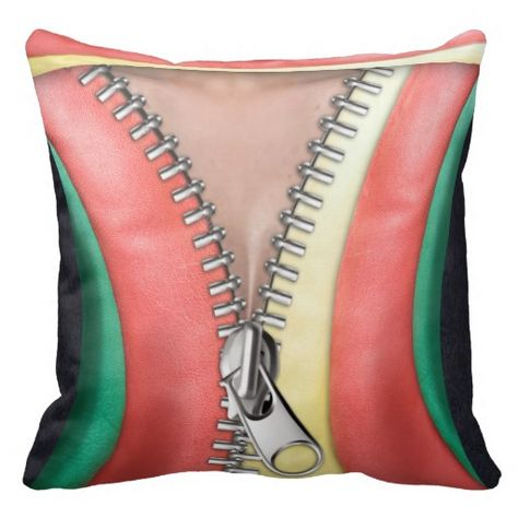 Leather Look Throw Pillow