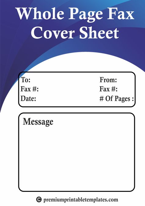 71 best Printable Templates Calendar images on Pinterest - sample confidential fax cover sheet