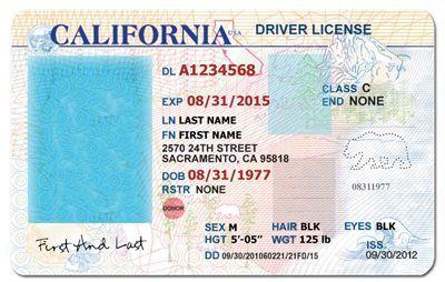California Drivers License Template Google Search Mine
