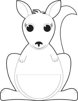 Kangaroo Clip Art And Joey Kangaroo Clipart Joey Kangaroo Clip