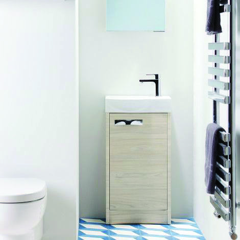 Cloakroom Ideas That Make The Most Of Your Small Space And Downstairs Toilet Cloakroom Basin Bathroom Furniture Cloakroom
