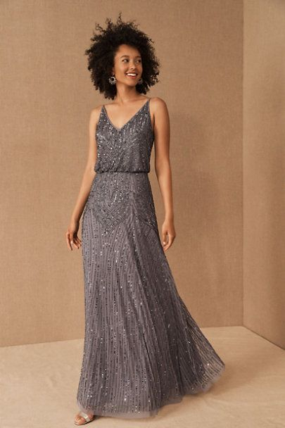 Fidelia Beaded Maxi Dress In 2020 Beaded Bridesmaid Dress Beaded Maxi Dress Beaded Formal Dress