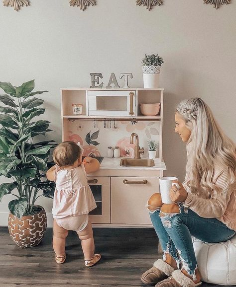 Playroom With Images Kids Play Kitchen Baby Playroom Kids