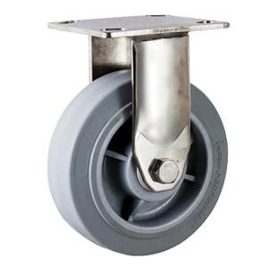 Heavy Duty Stainless Casters Material Pp Core With Tpr Wheel Size O100 X 50mm O125 X 50m Industrial Caster Wheels Industrial Casters Stainless Steel Casters