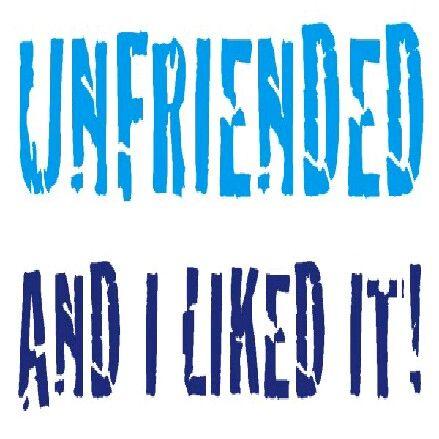 Facebook unfriend   Quotes   Facebook quotes, Unfriend quotes