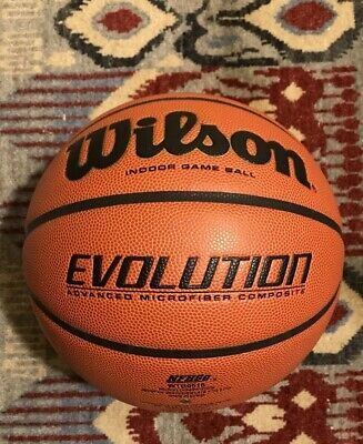 Advertisement Ebay Wilson Evolution Basketball 29 5 Basketball Basketball Systems Mini Basketballs