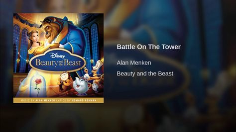 Battle On The Tower Disney Beauty And The Beast Beauty And The