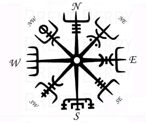 Viking's compass Vegvisir