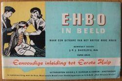 Boekje Ehbo In Beeld Oude Brocante Britse Rode Kruis Decoratief