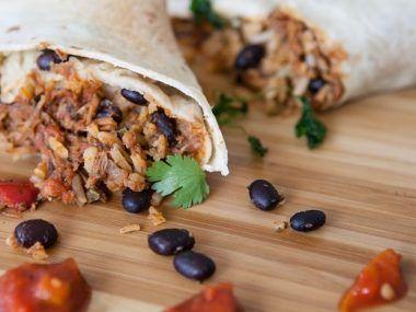 Burrito De Alambre Receta Sencilla Recipe Frugal Meals Recipes Easy Meals