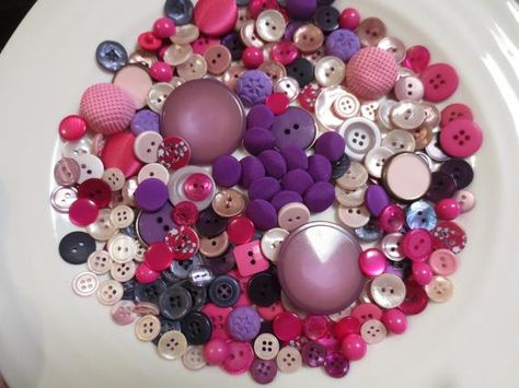 4 COLOURS//2 SIZES CRAFTS//SEWING//EMBROIDERY 40 BROWNS//BLACK BUTTONS