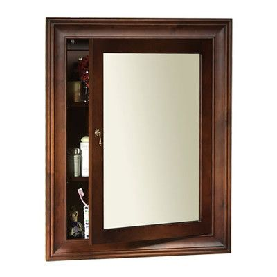 Ronbow Traditional Solid Wood Framed Medicine Cabinet In Colonial