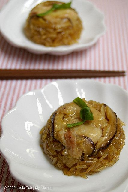 Glutinous Chicken Rice - without lotus leaf, try muffin tins instead. (糯米鸡 Lor Mai Kai)