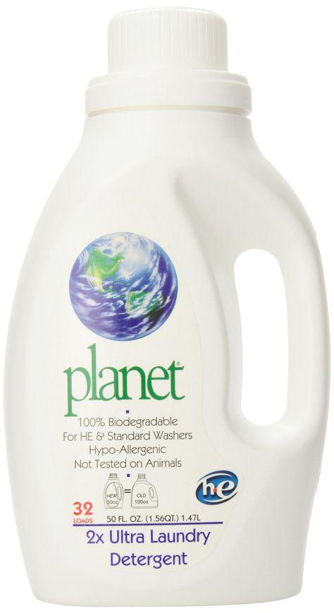Amazon Com Planet 2x He Ultra Laundry Liquid Detergent 32 Loads