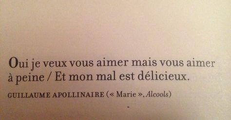 Alcools De Guillaume Apollinaire Les Poèmes Damour