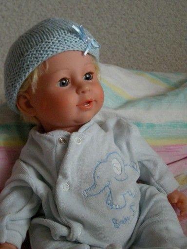 Lalka Bobas Dziewczynka Z Wloskami Dziecko Stara 7431425478 Oficjalne Archiwum Allegro Baby Face Baby Face