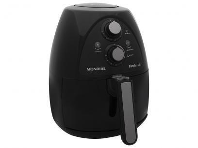 Fritadeira Eletrica Sem Oleo Air Fryer Mondial Naf 05 Preta 3 2l