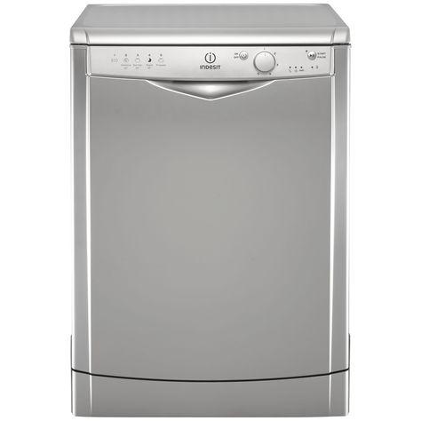 Indesit Dfg 15b1 S Freestanding Dishwasher Silver Freestanding