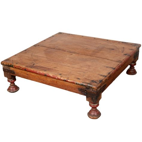 1stdibs Com Antique Anglo Indian Teak Side Table Door Dining