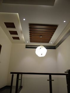Double Height Lobby Ceiling Modern Corridor Hallway Stairs By