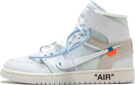 Air Jordan 1x Off White Nrg In 2019 Jordan 1 White Best White