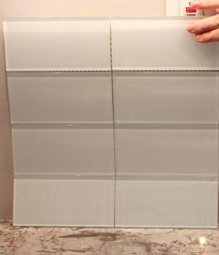 white glass subway tile kitchens pinterest subway tiles glass and kitchens
