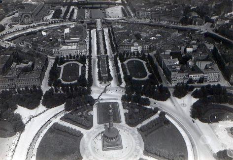 1913 Luftaufnahme Tiergarten Der Konigsplatz Mit Blick In Die Alsenstrasse Bis Zum Humboldthafen Aero Lloyd Luftbild Gmbh City Photo Photo City