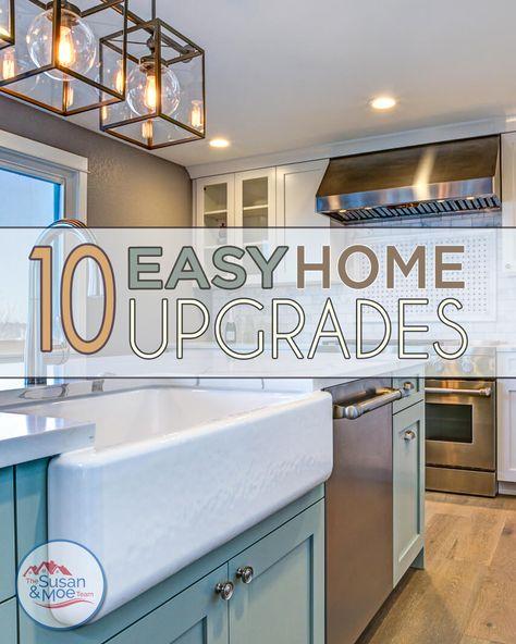 10 Easy Home Upgrades