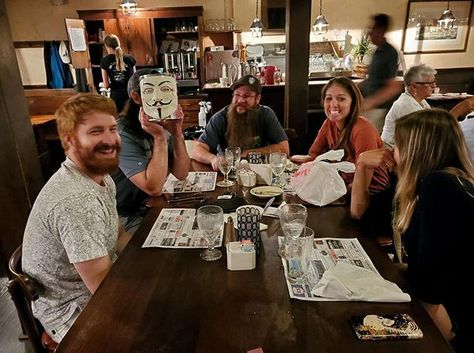 Congratulations to Team Trivia Newton John for winning 1st place at Lafayette House Restaurant! . . #trivianight #triviawinners #TriviaRevolution #notyouraveragetrivia #revolutioniscoming #lettherevolutionbegin #jointherevolution #revolution #guyfawkes #craftbeer #craftbeerrevolution #craftbeernotcrap #craftbeerporn #craftbeernj #njcraftbeer #drinklocal #NJCB #NJCBmember #njbeer #njbrewery #triviatuesday