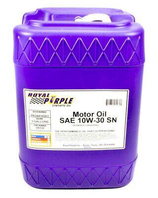 eBay Advertisement) Royal Purple 10W30 Motor Oil 5 gal P/N