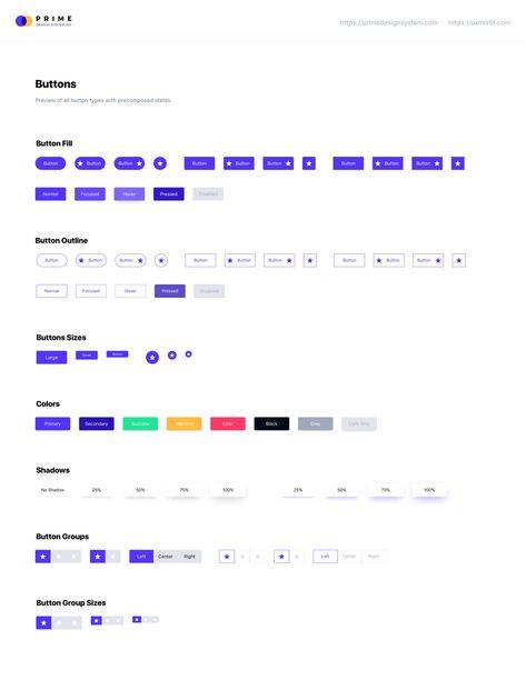Prime Design System Kit - Your Design Starter Kit