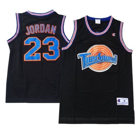 best website 6fbba 515ae NEW Tune Squad Space Jam Michael Jordan Basketball Jersey NWT Size Medium  Bin 23  SpaceJam