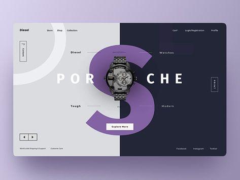 50 Creative Landing Page Design Concepts   Web Design   Graphic Design Junction