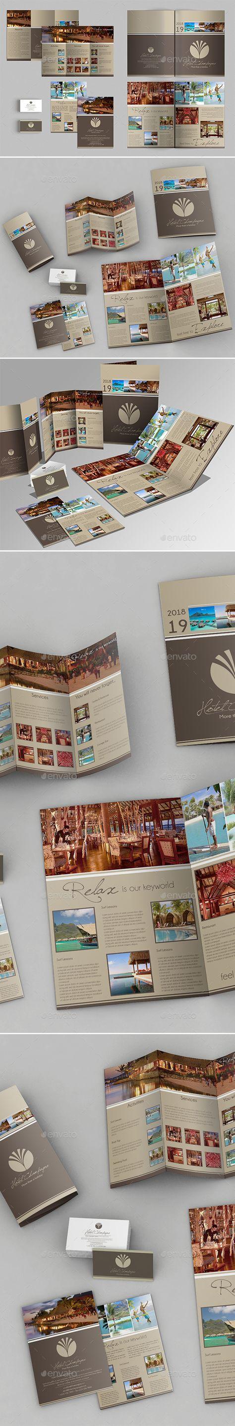 single page brochure templates psd