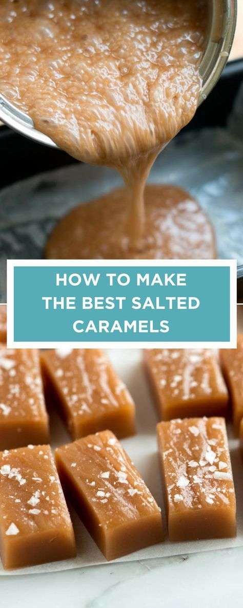Let's talk about caramels: Caramels are one of the easiest candies you can make at home. All you need is a straight-forward recipe and a few tricks.