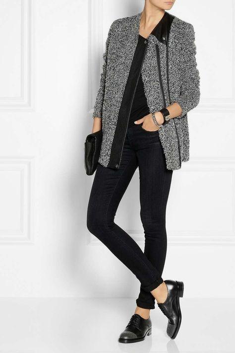 footwear beauty finest selection Come abbinare le francesine basse nel 2019 | Jeans neri ...