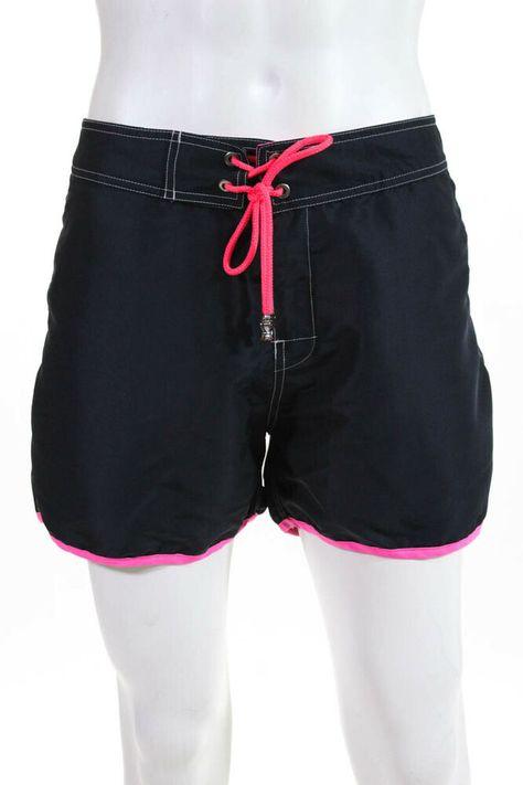 Les Canebiers Mens Drawstring Swim Shorts Blue Neon Purple Size 4XL #fashion #clothing #shoes #accessories #mensclothing #swimwear (ebay link)